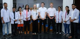 Students of Physiotherapy from Teesside University, UK reached LPU Campus