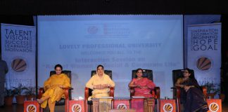 Women Leaders Participate in Interactive Session on 'Role of Women in Social and Corporate Life' at LPU Campus