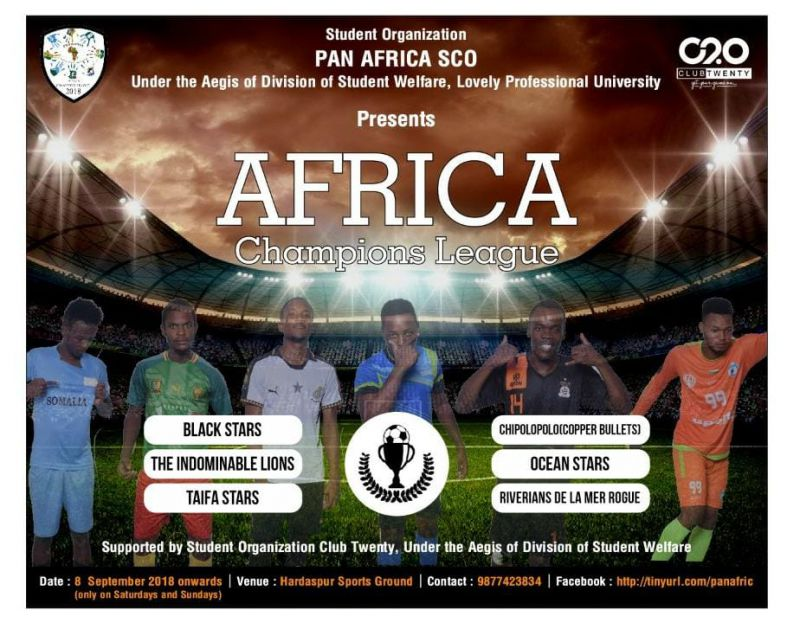 """LPU is Organizing """"African Football Championship"""" for Its International Students"""