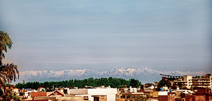 Dhauladhar Mountains from LPU