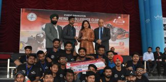 Closing ceremony of International Go-Kart Championship 2020