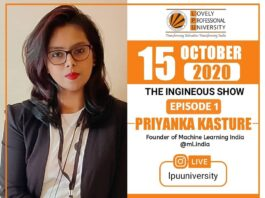 Instagram Live With Priyanka Kasture