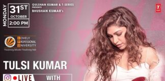 Live Session with Tulsi Kumar