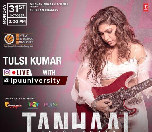 Live Session with Tulsi Kumar