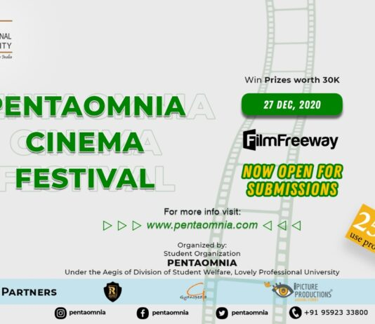 Pentaomnia Cinema Festival 2020
