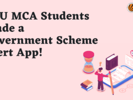 LPU MCA Students Made a Government Scheme Alert App!