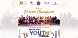 Punjab State Youth Festival 2021