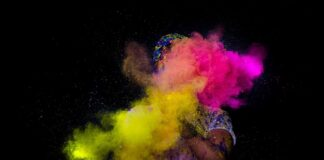 Holi Burning the Evil Coronavirus!!