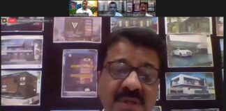 Chairman IIAPC and Director Ludhiana Smart City (ltd), Ar Sanjay Goel advising not to pollute air, water and sound on the earth during a virtual conference at LPU