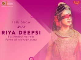 Enlivening Talk Show with Indian Television Icon Ms. Riya Deepsi