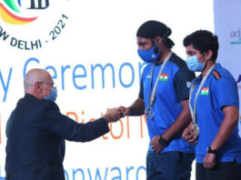 LPU MBA Student won two Medals at International Shooting Sports Federation World Cup