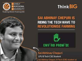LPU Student Incepts AI Revolution in Agriculture