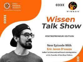 Live Interaction Session with Eric Jason D'souza, India's 1st Award Winning Tattoo Artist