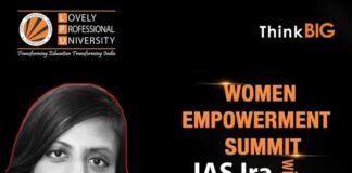 Women Empowerment Summit with IAS Ms. Ira Singhal