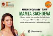 Women Empowerment Summit with Mrs. Mamta Sachdeva