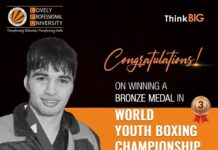 LPU Student won Bronze in AIBA Youth Boxing Championship 2021
