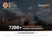 LPU records massive 7200+ placements amid pandemic