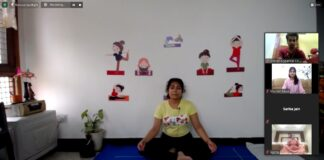 AIESEC in Jalandhar Concluded its Yoga Sandhya
