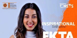Inspirational Talk Show with Ekta Dixit