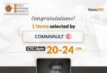 LPU Verto selected by American data protection & data management company Commvault