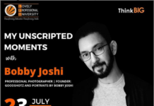 """Entering into the Realm of Photography in """"Unscripted Moments"""" with Bobby Joshi organized by UNYC"""