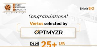 Five Vertos placed at a major product-based company, Optmyzr, Inc