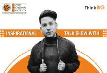 Inspirational talk show with Purav Jha