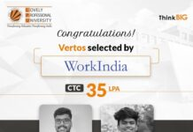 LPU students placed at India's largest blue-collar employment platform WorkIndia