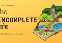 The Incomplete tale A storytelling event organised by Griffin