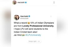 When Virat Kohli appreciated LPU Vertos at Tokyo Olympics 2020