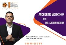 Exhilarating Anchoring Workshop by Mr. Sachin Sidhra