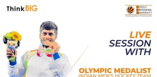 Galvanizing live interaction session with Indian Olympic Bronze medalist, Mr. Varun Kumar