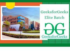 GeeksforGeeks Elite Batch Program