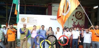 LPU to reward Rs 1.3 Crores to its Olympic Medal Winning students