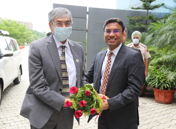 High Commissioner of Bangladesh to India His Excellency Muhammad Imran visited LPU
