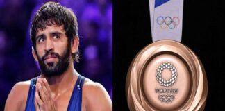 LPU Student Bajrang Punia Clinches Olympic Bronze