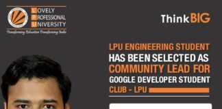 LPU Verto appointed as Community Lead for Google Developer Student Clubs