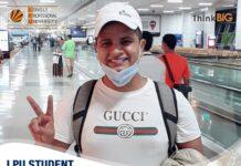 LPU's Verto Sabbir Mrida kick-started his journey at the University of North Alabama under the credit transfer program