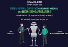 National Conference on Advanced Materials and Engineering Applications