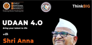 Teachings by Honorable Anna Hazare in Udaan 4.0 by organized by Tachyons