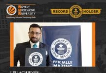 With Largest Placement Network, LPU is officially engraved in GUINNESS WORLD RECORDS!
