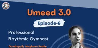 Enthralling Chat with India's most recognized Rhythmic Gymnast Ms Meghna Reddy Gundlapally