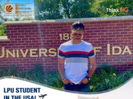 LPU prodigy makes it to the University of Idaho, USA leveraging LPU's robust credit transfer program
