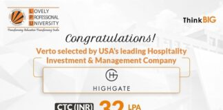 LPUs prodigy hired by Americas leading investment management company Highgate