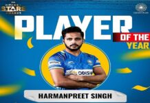 LPU Student Harmanpreet Singh Wins the Hockey Player of the Year Award
