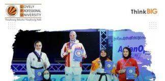 LPU student Himanshi Antil wins bronze medal at third Asian Taekwondo Open Championship