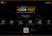 Participate in India's Largest Coding Festival - AURORA CODEFEST 2021