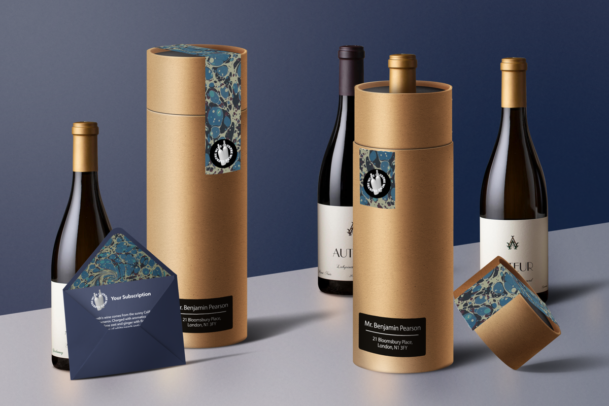 The Wine Club: Packaging Design
