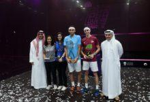 Photo of الشوربجي والشربيني يتوجان بلقب نهائيات دبي لسلسلة أتكو العالمية لمحترفي الاسكواش