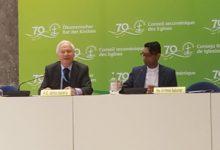 Photo of جنيف لحقوق الانسان يطرح جدول اعمال المؤتمر العالمي حول الاديان لسفراء الدول الافريقية